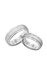 Diana Wedding Bands 11-N6912W-G