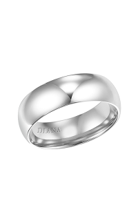 Diana Wedding Bands 01-LDIR060-G