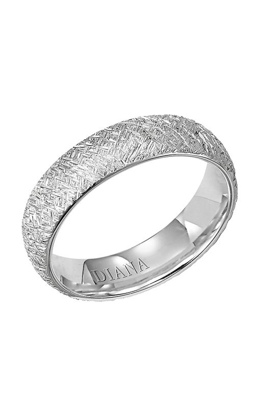 Diana  CF Artisan Rolled Edge  Wedding Band  11-N10A4W55-G product image