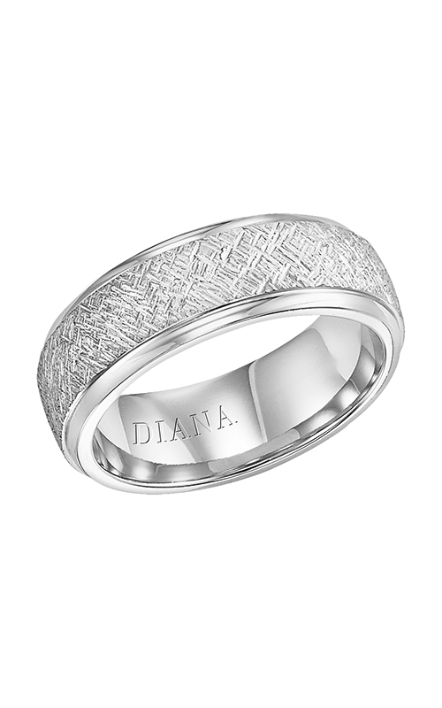 Diana  CF Artisan LD with RD STP Edge  Wedding Band  11-N14A4W75-G product image