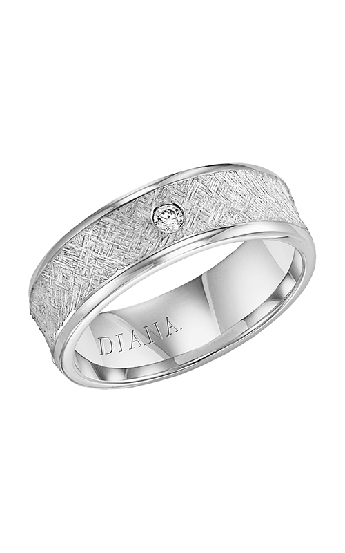 Diana  CF Art Concve Brkn Edge - 1  Wedding Band  22-N33A4W7-G product image