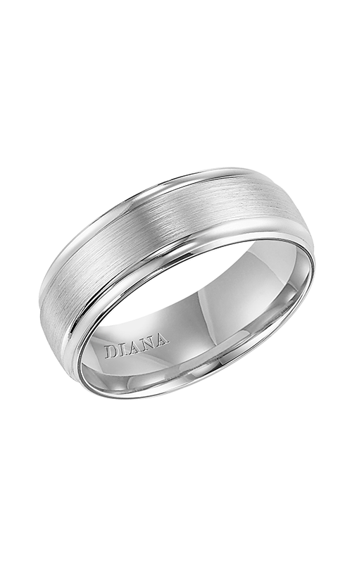 Diana  7.5mm Comfort Fit Engraved Band-A  Wedding Band  11-N7659W75-G product image