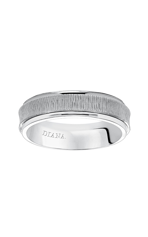 Diana  6mm Comfort Fit Cast Insert Band- A  Wedding Band  11-N82W6-G product image