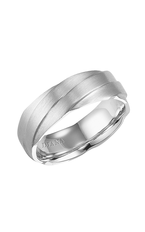 Diana  7.0mm Comfort Fit Engraved Band-A  Wedding Band  11-N7665W7-G product image