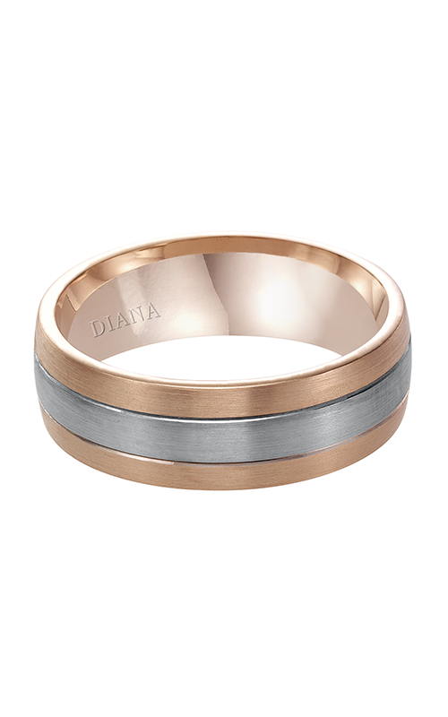 Diana  7mm Comfort Fit Satin Finish Band-A  Wedding Band  11-N7675RW7-G product image