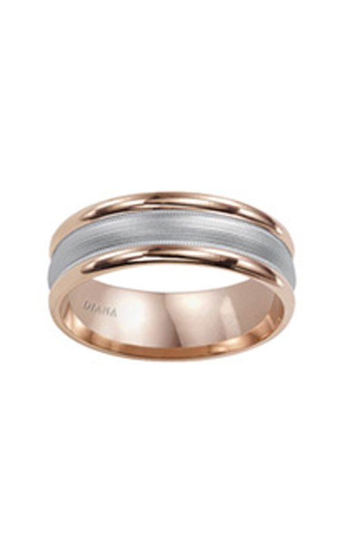 Diana  7mm Comfort Fit Carbide Finish Band-A  Wedding Band  11-N7680RW7-G product image