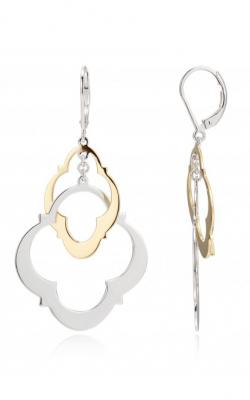 Elle Compass Rose Earrings E0557 product image