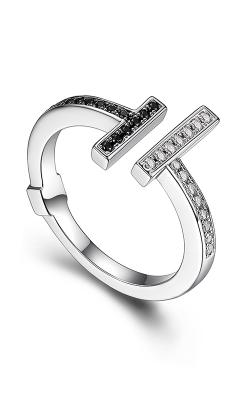 Elle Tuxedo Fashion Ring R0391 product image