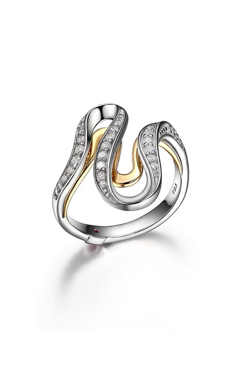 Elle Moon Shadow Fashion Ring R4LA7M00AGXC55NB3E01 product image