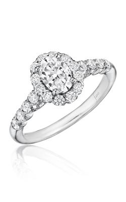 Fana Halo Engagement ring, S2590 product image