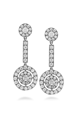 Inspiration Double Halo Drop Earrings product image