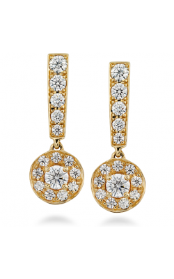 Inspiration Single Halo Drop Earrings product image