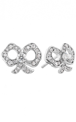 Lorelei Diamond Bow Stud Earrings HFEDBLOR00308W product image