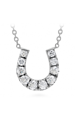 HOF Diamond Horseshoe Necklace product image