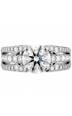 Copley Diamond Triple Row Engagement Ring product image