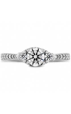 Destiny Horizontal Regal Engagement Ring - Diamond Band product image