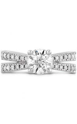 Destiny Split Shank Engagement Ring - Diamond Band product image