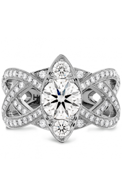 Intertwining Regal Diamond Engagement Ring product image
