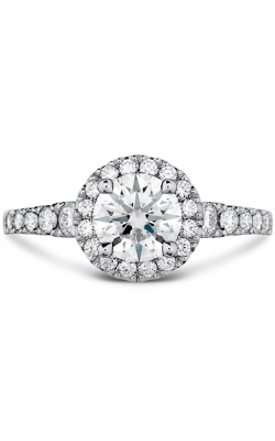 Transcend Premier HOF Halo Engagement Ring product image