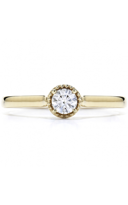Diamond Bar Beaded Gallery Ring product image