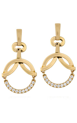Copley Circle Drop Earrings HFECPDC00608W product image