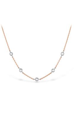 HOF Signature Off-Set Five Bezel Necklace product image