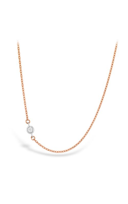 HOF Signature Off-Set Single Bezel Necklace product image