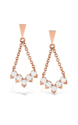 Aerial Diamond V Drop Earrings product image