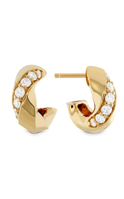 Atlantico Wave Diamond Hoops product image