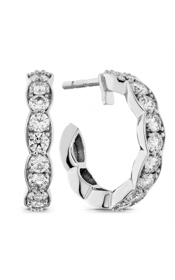 Lorelei Floral Hoop Earrings product image