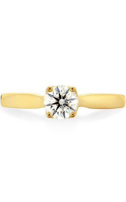 Simply Bridal Leaf Solitaire Engagement Ring product image