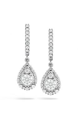 HOF Teardrop Halo Drop Earrings product image