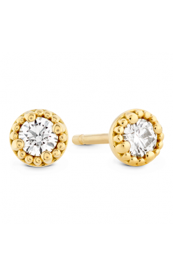 Liliana Milgrain Single Diamond Stud Earrings product image