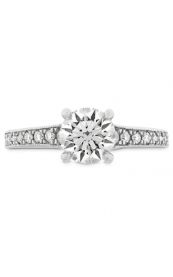 Liliana Milgrain Engagement Ring - Dia Band product image