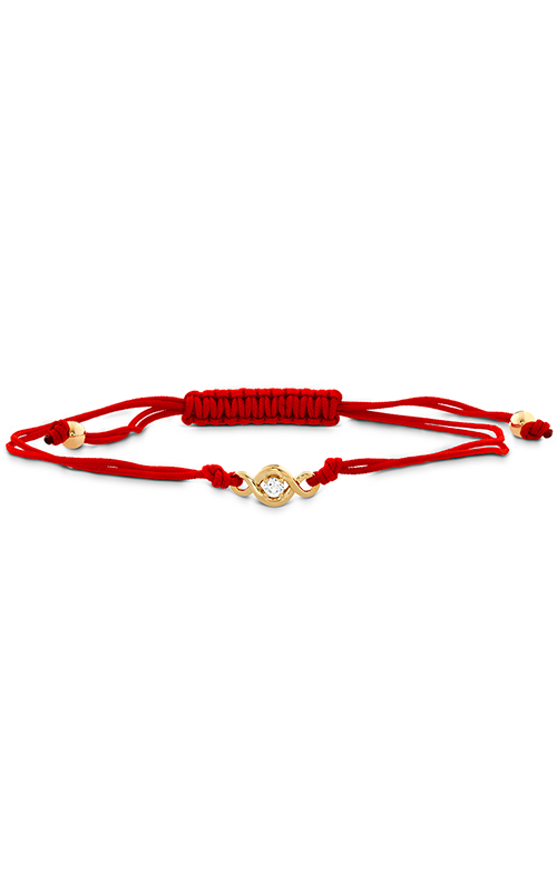 Optima Single Diamond Cord Bracelet product image
