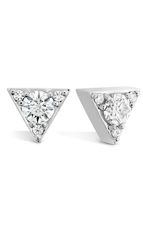 Triplicity Triangle Stud Earrings product image