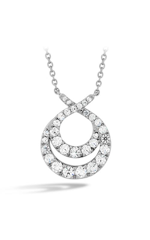 Optima Double Circle Diamond Necklace product image