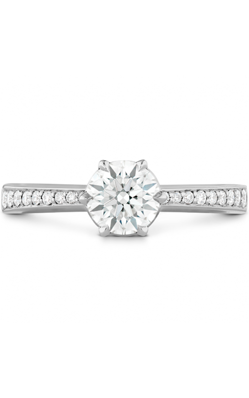 HOF Signature 6 Prong Engagement Ring - Diamond Band product image