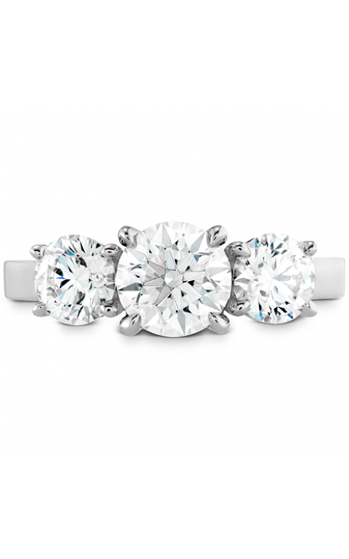 Illustrious Three Stone Engagement Ring product image