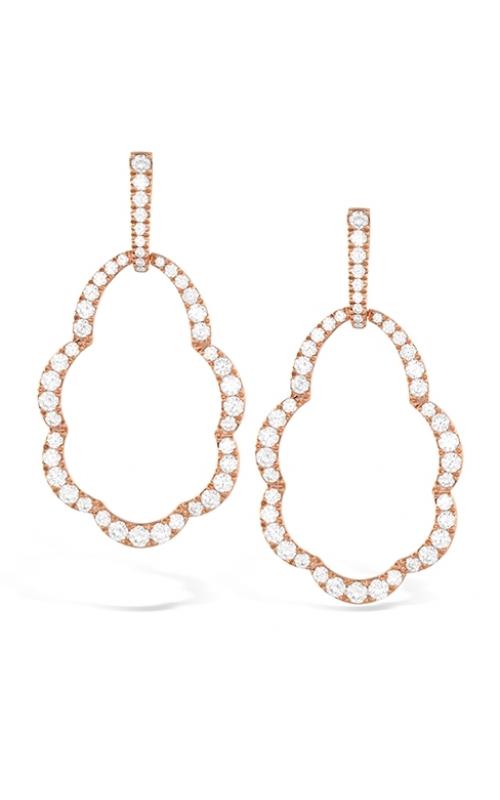 Lorelei Open Drop Diamond Earrings product image