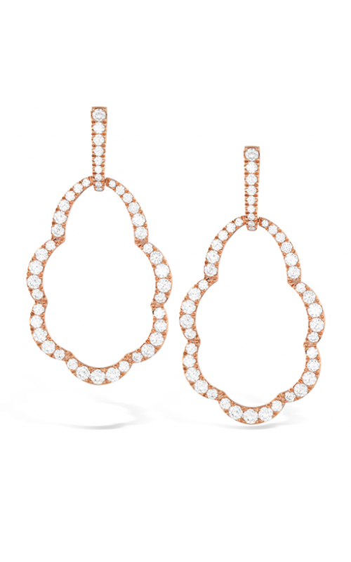 Lorelei Open Drop Diamond Earrings product image