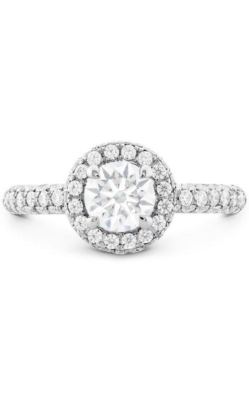 Euphoria Pave HOF Halo Engagement Ring product image
