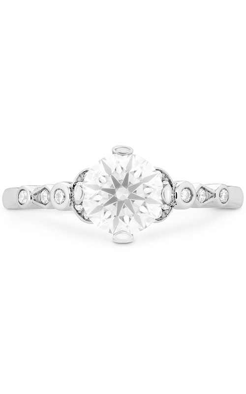 Cali Chic Double Petal Bezel Engagement Ring product image