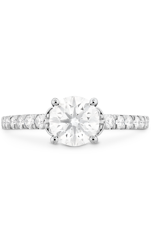 Cali Chic Double Petal Engagement Ring product image