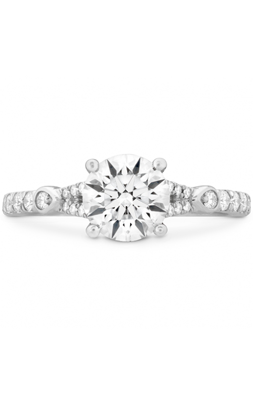 Cali Chic Petal Split Shank Engagement Ring product image