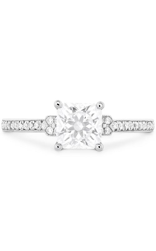 Deco Chic Milgrain Engagement Ring product image