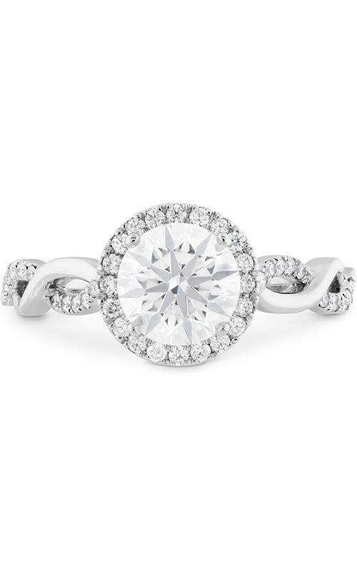 Destiny Lace HOF Halo Engagement Ring product image