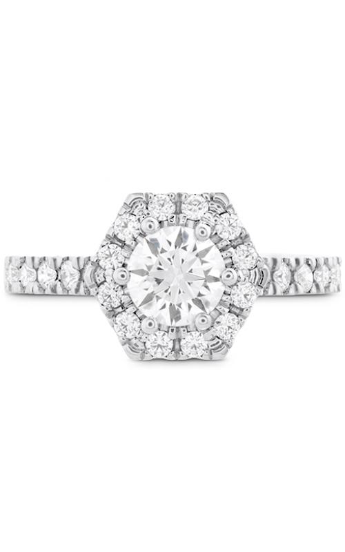 HOF Hexagonal Engagement Ring - Diamond Band product image