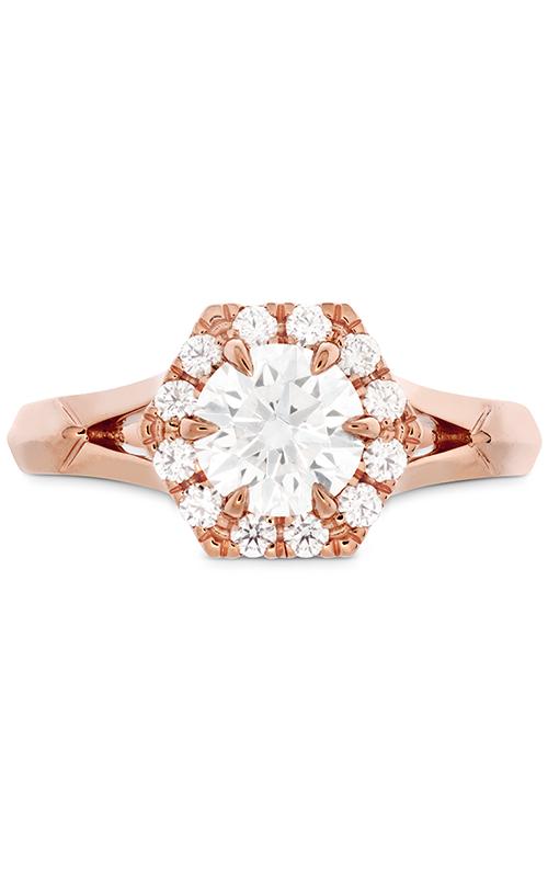 HOF Hexagonal Split Shank Engagement Ring product image
