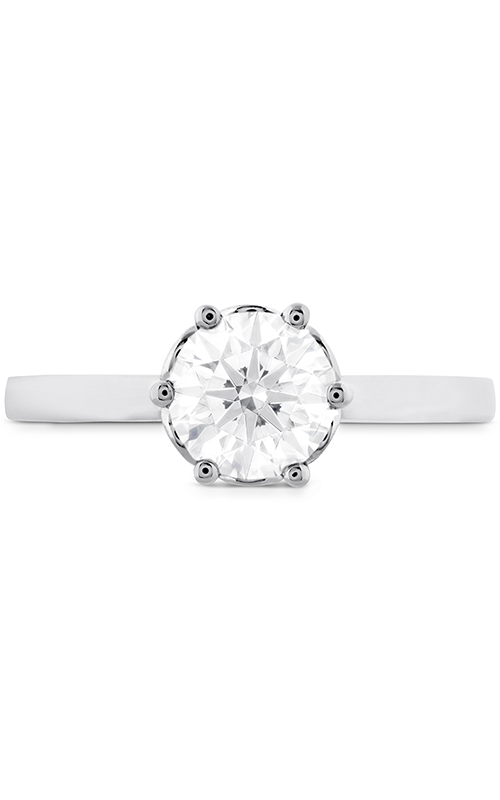 HOF Signature Bezel Basket Engagement Ring product image